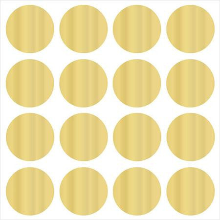 Gold Effect Confetti Dots