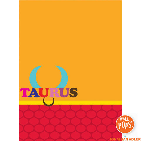 Taurus Dry-Erase Peel and Stick Board