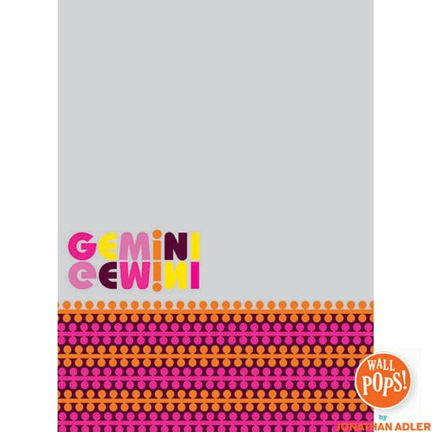 Gemini Dry-Erase Peel and Stick Board