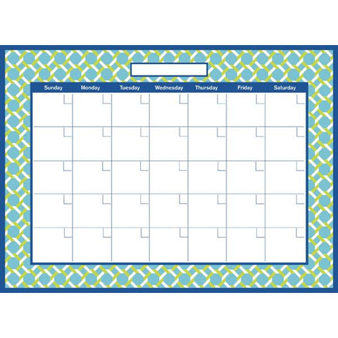 Links Monthly Calendar Wall Stickers