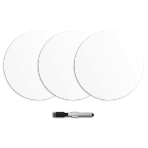 Ghost White Dry Erase Wall Dot Stickers