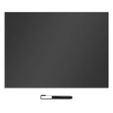 Black Dry Erase Dry-Erase Peel and Stick Board