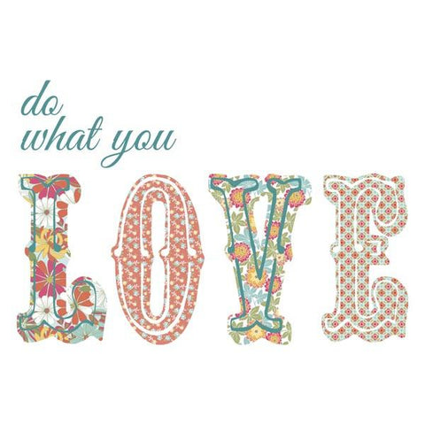 Do What You Love Wall Art Quotes