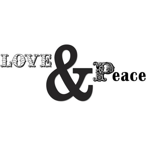 Love and Peace Wall Art Quotes