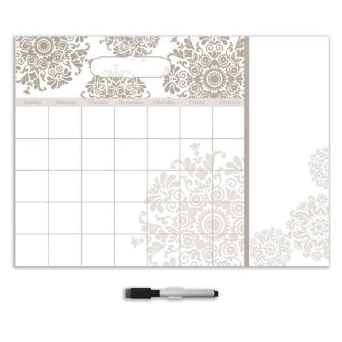 Kolkata Calendar with Notes Wall Stickers