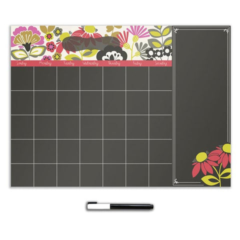 Eden Calendar with Notes Wall Stickers
