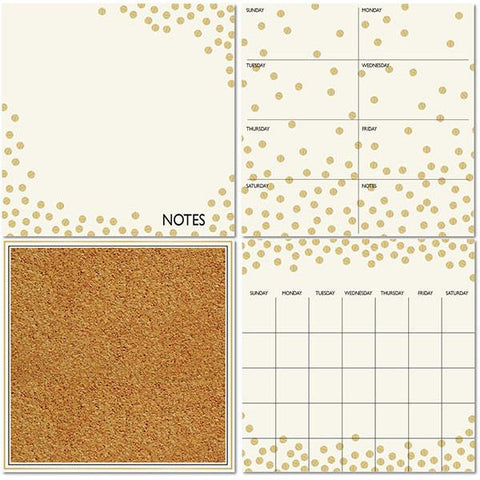 Gold Confetti Organisation Set