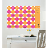 Dry Erase Monthly Calendar/Message Board Combo - Bubblegum