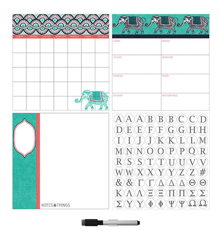 Indra Dry Erase Combo with Monogram