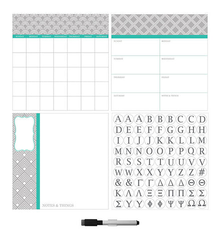 Pimlico Dry Erase Combo with Monogram