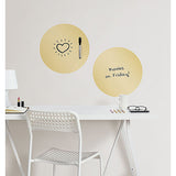 Dry Erase Dots - Gold Effect Foil