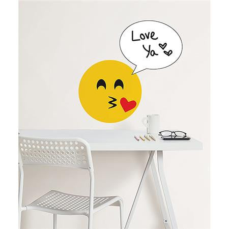 Create an Emoji Dry Erase Wall Decal