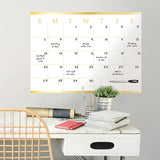 Dry Erase Monthly Calendar - Vogue