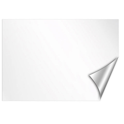 White Dry-Erase Peel and Stick Board