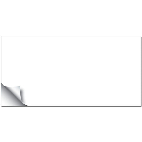 White Weekly Dry-Erase Peel and Stick Board