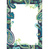Paisley Please Dry Erase - Blue Wall Stickers