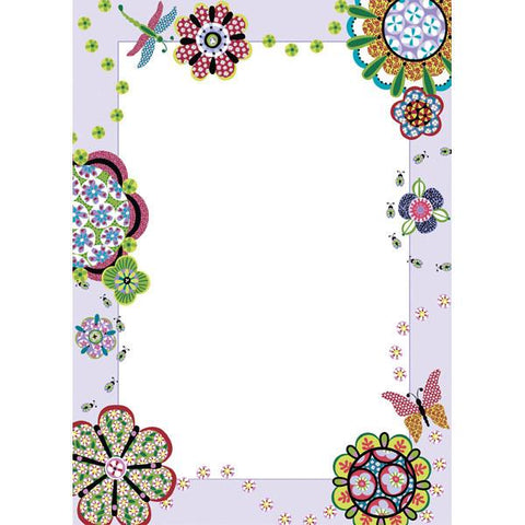 Flower Power Dry-Erase Wall Stickers