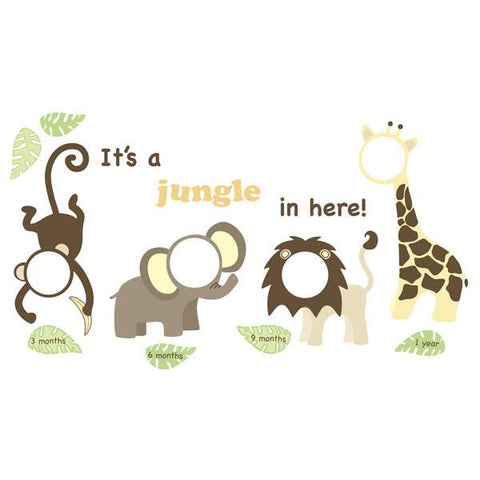 It's a Jungle in Here Wall Frame