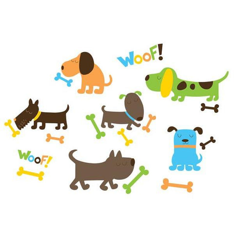 Puppy Love Wall Art Sticker Kit