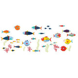 Fish Tales Wall Art Sticker Kit