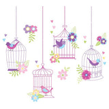 Chirping The Day Away Wall Art Sticker Kit