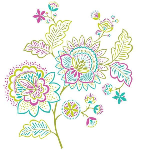 Delila Wall Art Sticker Kit