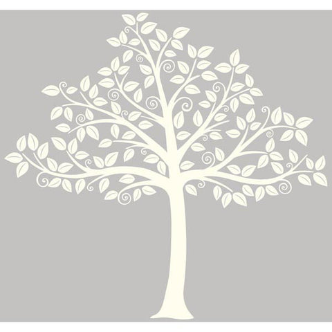 Silhouette Tree Wall Art Sticker Kit