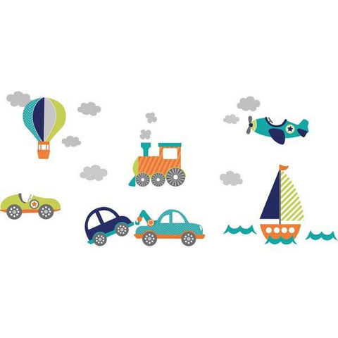 On the Go Wall Art Sticker Kit