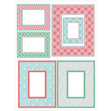 Geo Color Frame Small Wall Art Kit