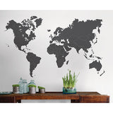 The World Is Yours Giant Wall Art Kit