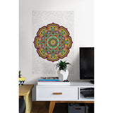 Paradise Mandala Colouring Wall Decal