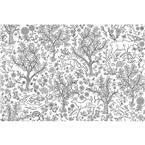 Wilderness Colouring Wall Decal