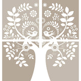 Love Birds Wall Art Sticker Kit