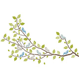 Sitting in a Tree Wall Art Sticker Kit