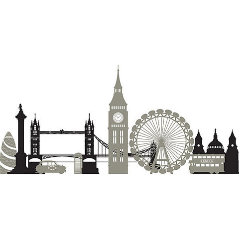 London Calling Wall Art Sticker Kit
