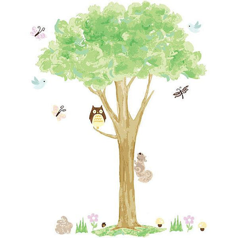 Treehouse Wall Art Wall Art Sticker Kit