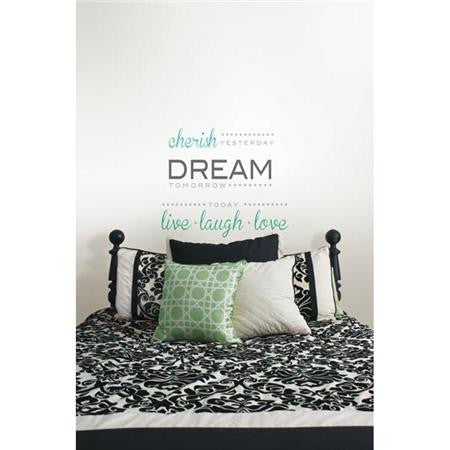 Cherish Dream Live Wall Quote