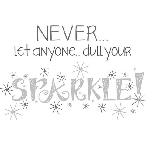 Sparkle Wall Art Quotes