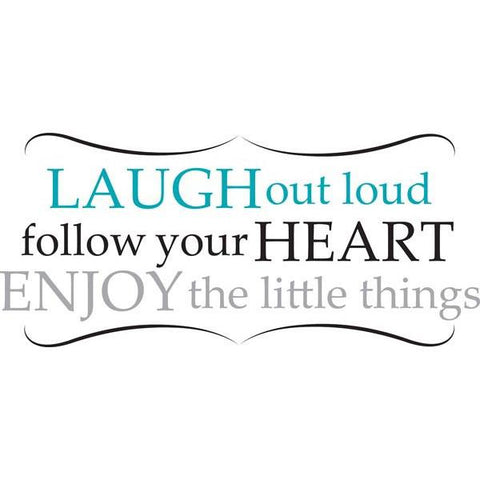 Laugh Out Loud Wall Art Quotes