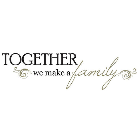 Together Wall Quote