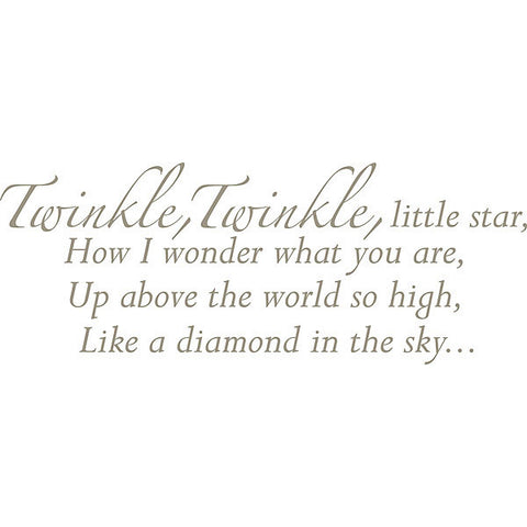 Twinkle, Twinkle - Wall Wishes