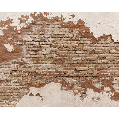 Distressed Brick Wall Mural