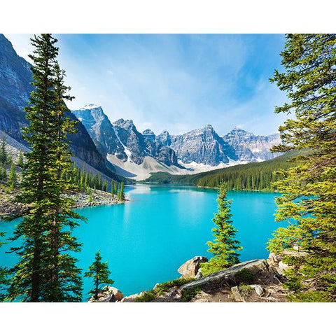 Lake Moraine Wall Mural