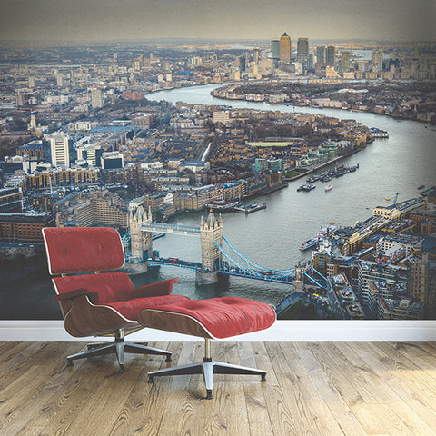 London Skyline Wall Mural