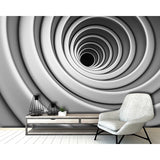 Abstract Circles Wall Mural