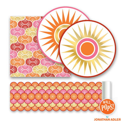 Geo Circles Wall Stickers