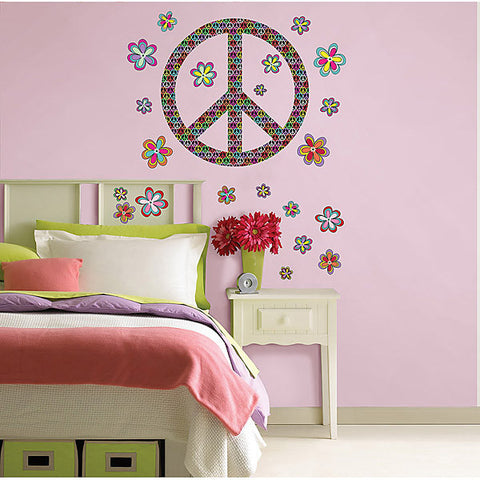 Peace Wall Art Sticker Kit