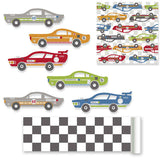 Rally Racers Wall Stickers