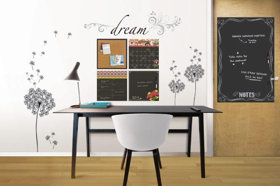 Dry Erase Wall Stickers
