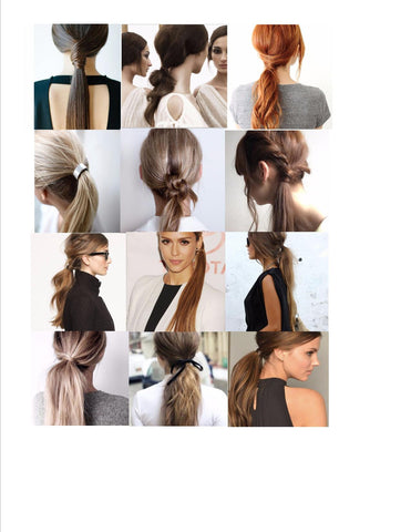 SUMMER STYLE: EFFORTLESSLY CHIC PONYTAIL